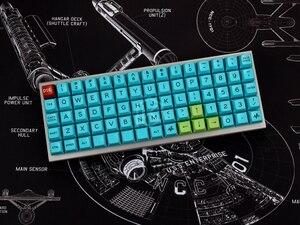 Image 3 - Механическая клавиатура xd75re xd75am xd75, настраиваемая клавиатура с 75 клавишами, подсветка RGB PCB GH60, 60% программируемый gh60 kle planck, переключатель горячей замены