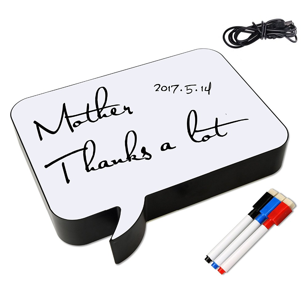 hight resolution of detail feedback questions about wrumava a4 handwriting letter light box diy led message drawing writing board night light for birthday party wedding