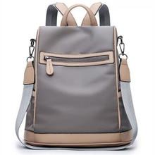 Купить с кэшбэком New Fashion Women classic Backpack  Ladies Leisure Oxford  Knapsack  Girl Cosmetic package Laptop Travel Bags for School Teenage