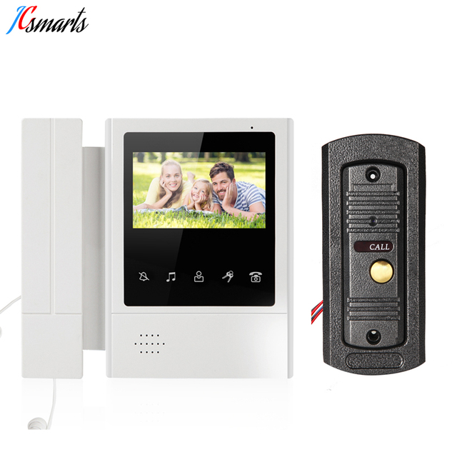 Apartment Video Door Bell Front Door Intercom Door Phone And Cmos