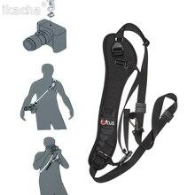 Camera Strap Belt Quick Rapid Shoulder Sling Neck Camera DSLR for Canon EOS 7D 1100D 1000D 60D 350D 600D for Nikon D7100 D3300 цена и фото