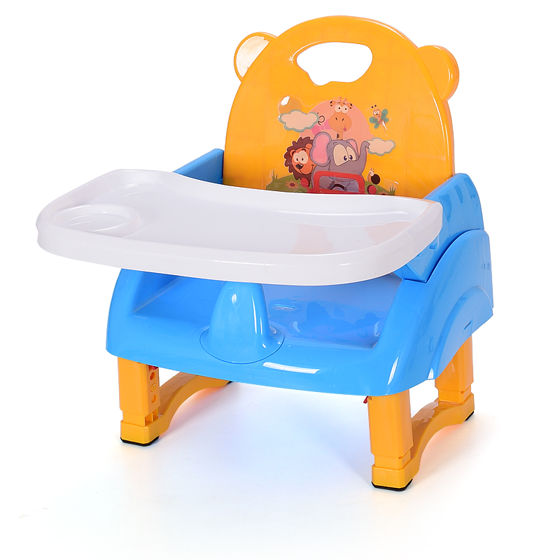 Multi-Function Dual-use Children Dining Chair Stool Booster Baby Dining Table Chair 6 M~3 Y Booster Seats Safety