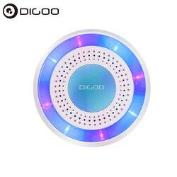 Digoo DG ROSA 433MHz bezprzewodowy DIY samodzielny syrena alarmowa wielofunkcyjny dla inteligentnych systemów automatyki domowej pilot do Arm|Moduły automatyki domowej|   -