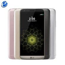 """Разблокированный LG G5 4 ГБ 32 ГБ H850 H820 H860N one/dual sim евро 5,"""" QHD ips четырехъядерный 16MP отпечаток пальца FDD 4G LTE мобильный телефон"""