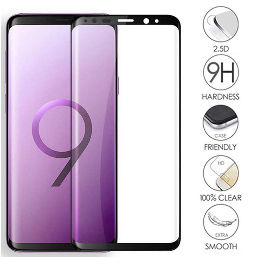 S8 Glas 10d Full Cover Tempered Glass Screen Protector For Samsung Galaxy S9 S8 Note 8 9 Clear Protective For A8 A5 A6 A7 Plus S7 Film