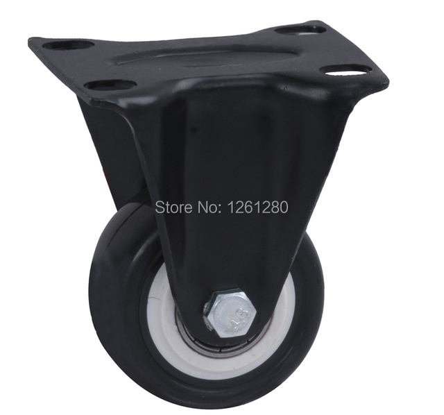 free shpping caster heavy-duty swivel wheel directional wheel furniture hardware caster PU mute hand car caster bal bearing