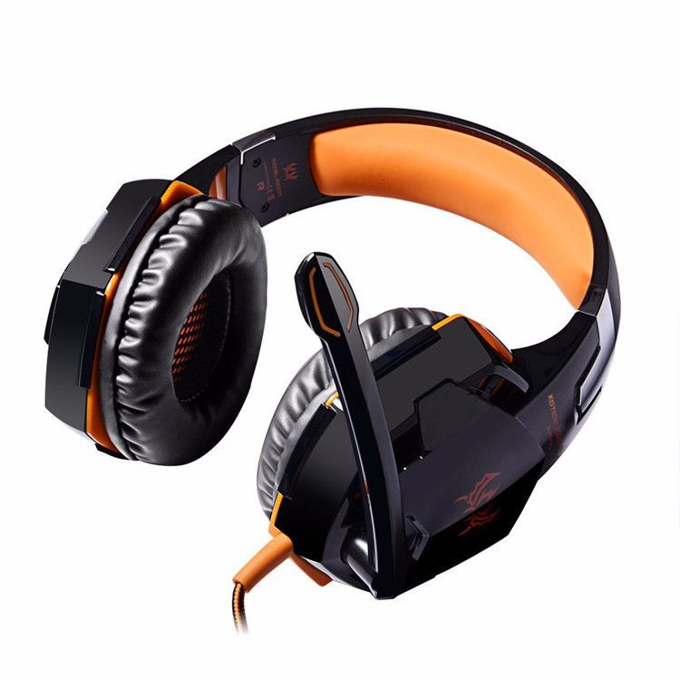 EACH G2000 Over-ear Gaming Headphone Headset Earphone With Mic Stereo Surrounded Bass LED Light For PC Game (23)