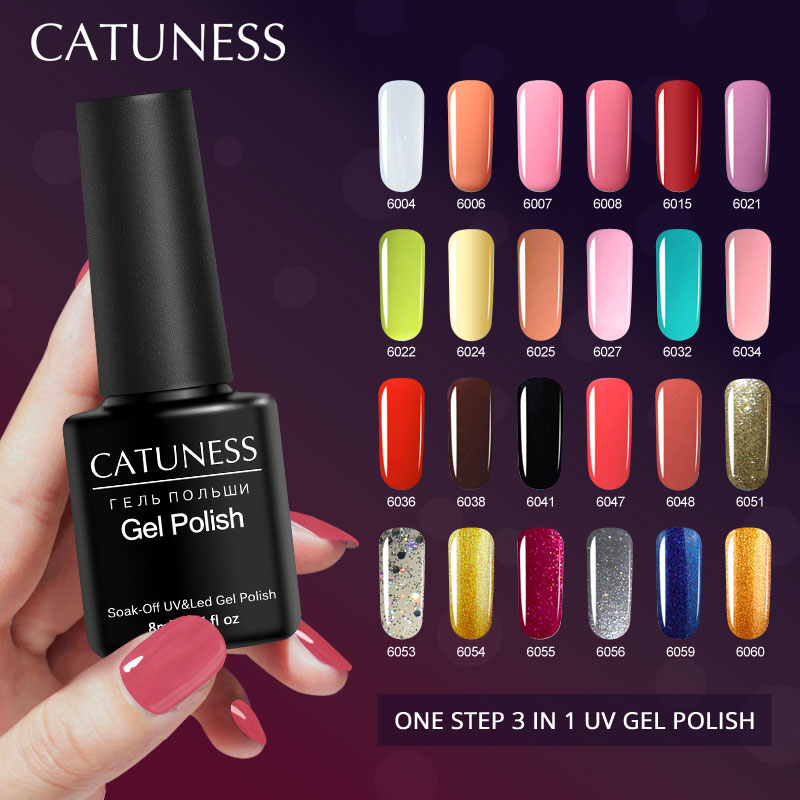 Buy now CATUNESS Long Lasting One Step UV Gel LED Lamp Soak Off Semi Permanent Gel Polish