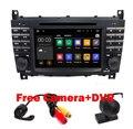 HD 1024x600 Quad core Androide de DVD Del Coche 5.1 para Mercedes/Benz Clase C W203 c200 C230 C240 C320 C350 W209 CLK GPS Radio WiFi 3G