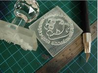 DIY Professional Custom Handmade Soap Seal Printed STAMP Can Be Mass Pattern Mini Diy Soap Stamp