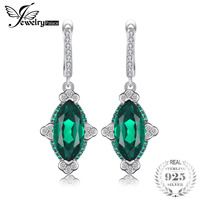 JewelryPalace 5ct Marquise Nano Russian Simulated Dangle Earrings 925 Sterling Silver Fashion Drop Earrings Classic Brand