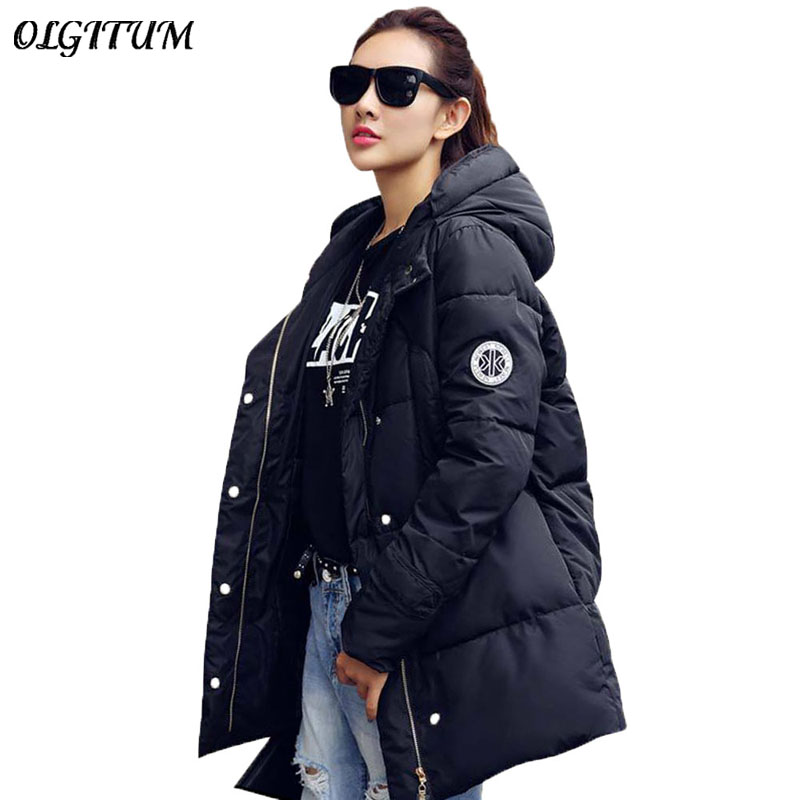 Hot!2016 New Winter Jacket Womens Outwear Parkas for Women Winter Outwear Long Parka Female Women Winter Coat Thickening Cotton