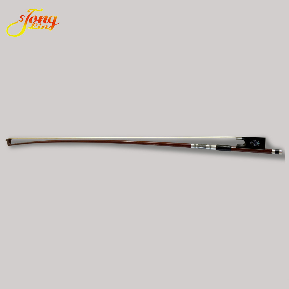 TONGLING Highgrade Violin Bow Exquisite Class A Horsehair Bow 4/4 Fiddle Professional Violino Parts Carved FlowerTONGLING Highgrade Violin Bow Exquisite Class A Horsehair Bow 4/4 Fiddle Professional Violino Parts Carved Flower