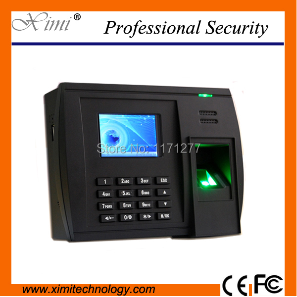 New hot salling product fingerprint time attendance Multi Language SMS  RS232/485 communication 3inches TFTscreen LINUX system-in Electric  Attendance