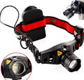 Bright 4 Modes CREE Q5 600 Lumen LED Headlight Camping Head Lamp Zoomable Focus Portable Spotlight For Hunting AAA Free Shipping