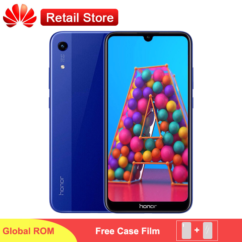 Honor 8A Global Version ROM Smartphone Face ID 6 09 Fullview MT6765 Octa Core Android 9