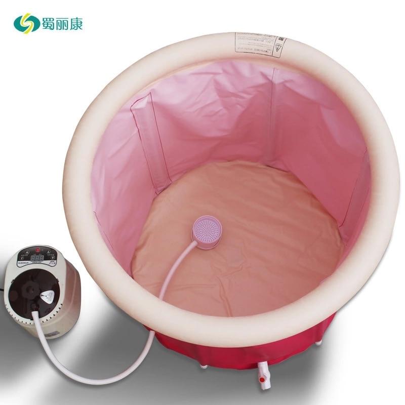 Steam Box Skin SPA Portable Steam Sauna Tent Steamer Slim Weight Loss Indoor Health Care Spa Tubs & Sauna Rooms 220V
