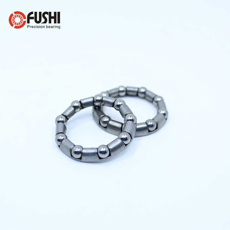 BIKE BALL BEARING CAGE WHEEL HUB AXLE HEADSET PIVOT CRANKSHAFT RETAINER STEEL
