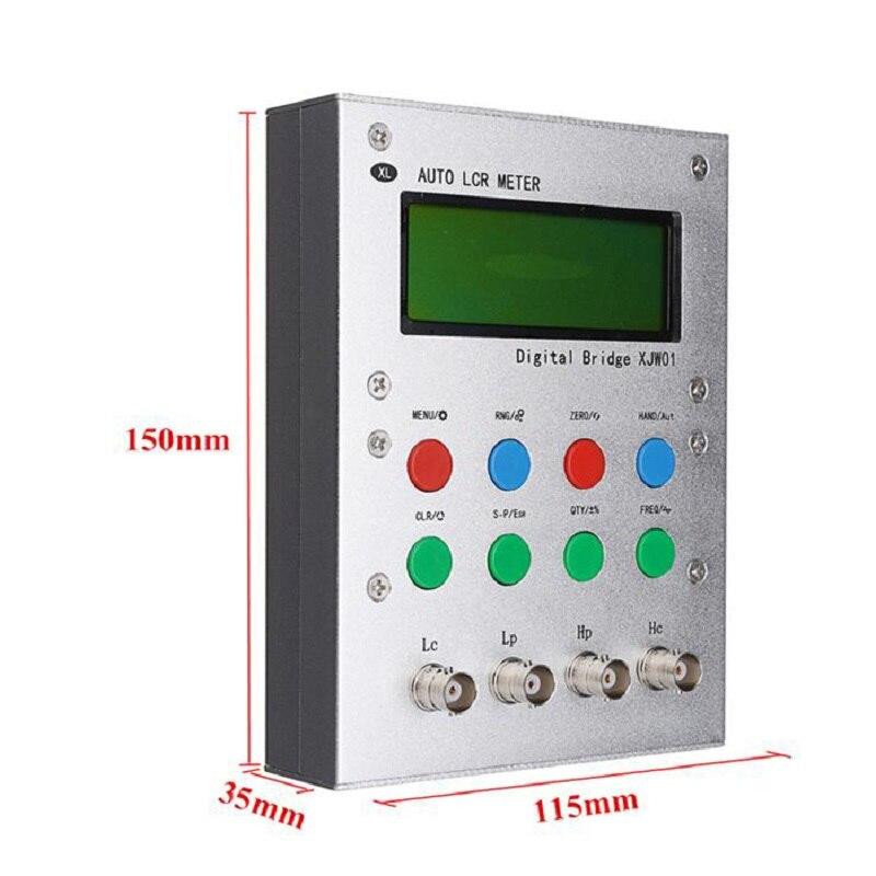 XJW01 LCR Digital Bridge Tester, Inductance,capacitor, Resistor,watchband, ESR Kit