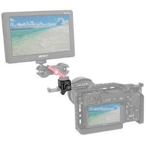 """Image 5 - NICEYRIG מצלמה מהדק שחרור מהיר נאט""""ו מהדק הר עם 3/8 """"1/4"""" 20 ו M2.5 בורג חור מצלמה צג מחזיק במהירות 1/4"""""""