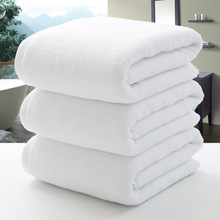 new 100*200cm cotton hotel spa towel large bath beach towel brand for adults