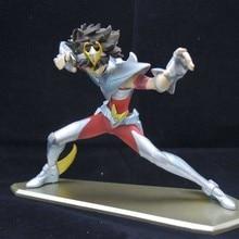 лучшая цена Japanese Anime Saint Seiya Tenma Anime Figure Toy Cartoon Saint Seiya Display Excellent Model Toys Fans Kids Birthday Jouet Gift