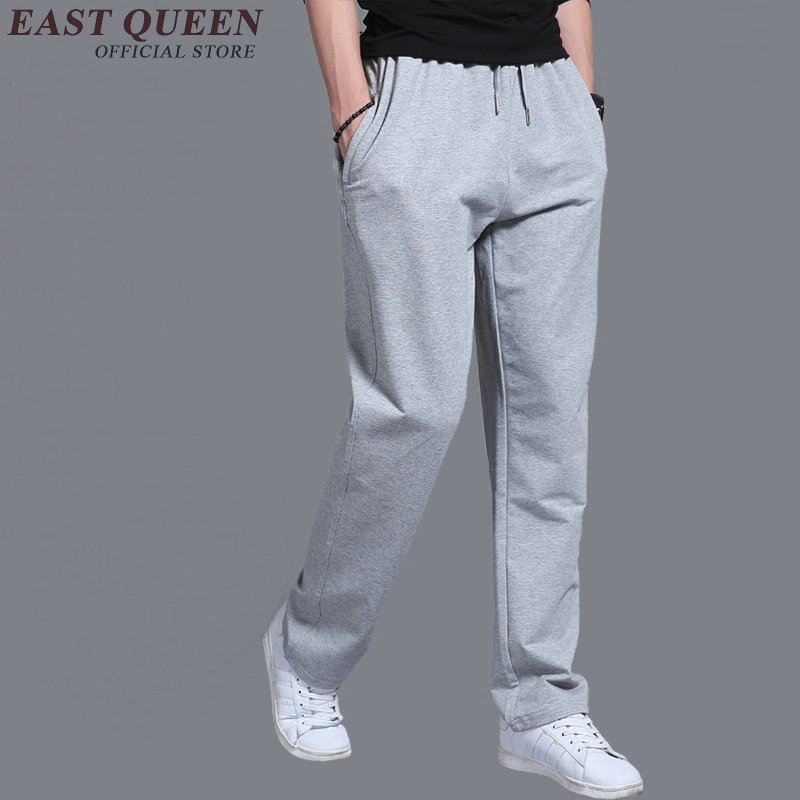 Elastic waist sweatpants male cheap sweatpants sportswear pants workout jogger trousers large size L-5XL AA2684 YQ