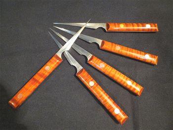 5pcs sharp samll carver to repair bridge / neck graverr/F hole and so on