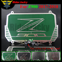 RiderJacky For Kawasaki Z900 Z 900 2017 2018 Motorcycle Radiator Guard Stainless Steel Cover Protector Guard(4 Type Choices)