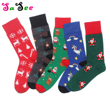 SA SEE Unisex Cartoon Cute Happy Socks Men Harajuku Hip Hop Hipster Funny Socks