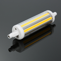 1Pcs 30W R7S COB LED Light 118mm Lamp AC85V 265V Non Dimmable SMD Light White Warm