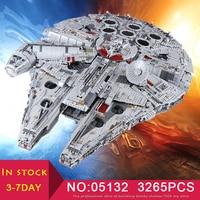 LEPIN 05132 Star Wars The Destroyer New Millennuium Falcon Set compatible LegoINGlys 75192 Building Blocks Bricks Kid Toys