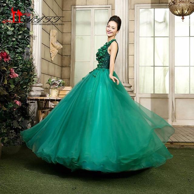Emerald Floral Dresses