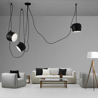 Tabour Loft pendant lamp modern nordic dining room living room restaurant cafe club bedroom bar hall pendant light