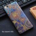 Xiaomi mi5 case new 3d alívio pintura dos desenhos animados de silicone macio de volta case capa para xiaomi mi5 xiaomi m5 case capa frete grátis