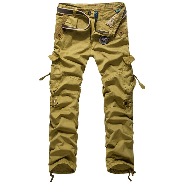 Aliexpress.com : Buy European Style Men's Cargo Pants Top Sale ...