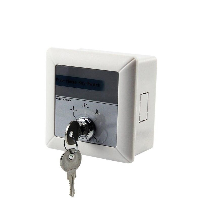 Aufstrebend Automatische Tür Key Control Schalter Automatische Tür Schalter Multi Funktion Schalter Clear-Cut-Textur
