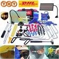 Инструменты PDR, крюк, инструменты, толкатель, автомобильная лома, безболезненные Инструменты для ремонта вмятин, наборы, клеевые палочки, от...