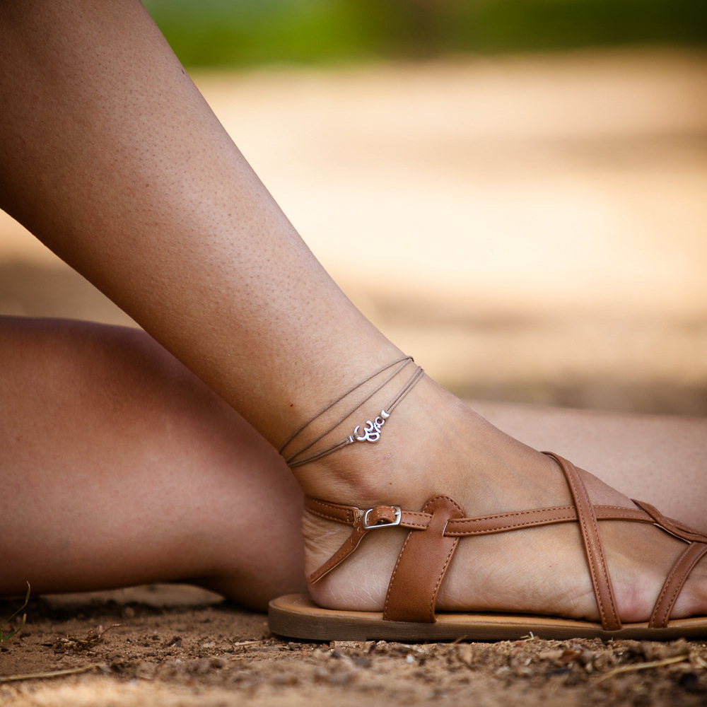 om anklets women bohemian ankle yoga star with bracelets jewelry store rope chain anklet and fashion online product pendant