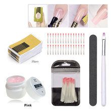Builder Gel for Nail extensions LED UV  gel polish Hard gel varnish manicure 5g Pink Clear White false tips for nail extensions kiss impress manicure accent hard varnish bright as a feather