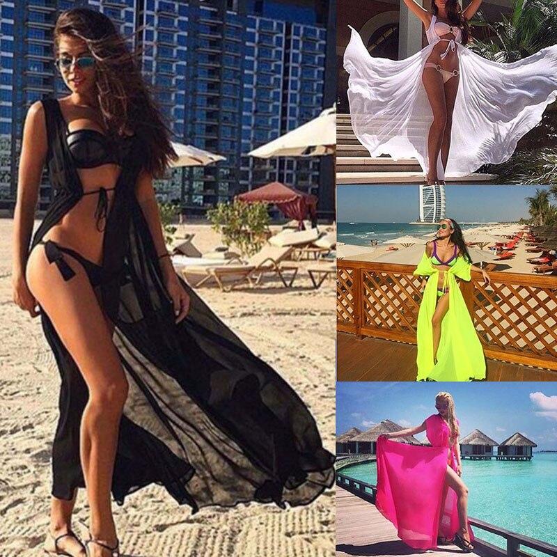 2017 Pareo Strand Cover Up Floral Stickerei Bikini Cover Up Bademode Frauen Robe De Plage Strand Strickjacke Badeanzug Abdeckung ups