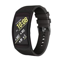 Solft Silicone Watch Strap Smartwatch Bands Man Women for Samsung Gear Fit 2 SM-R360/Gear Fit 2 Pro SM-R365 High Quality 2.27 смарт часы samsung galaxy gear fit 2 sm r360 розовый sm r3600ziaser