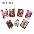 7PCS / SET High Qaulity Hot Moive 7PCS / SET High Quality Movie Suicide Squad Harley Quinn Travel Case Car decal stickers