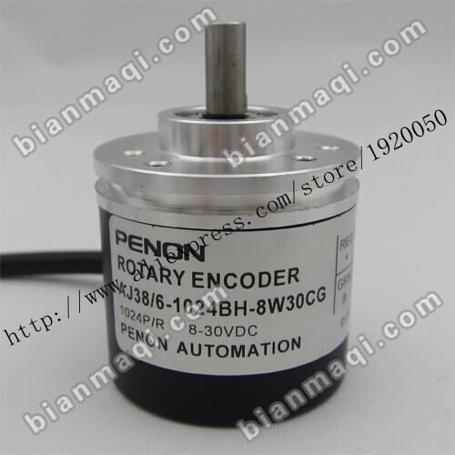 Punto AJ38/6-1024BH-8W30CG codificador óptico rotatorio 1024 línea de 6mm de diámetro exterior de 38mm fondos
