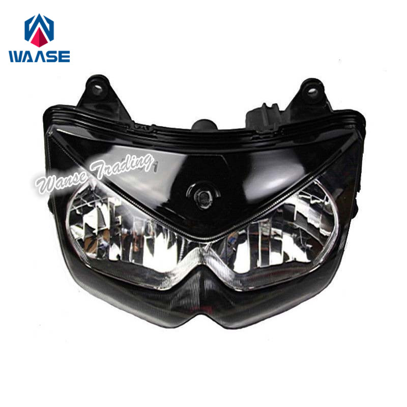 Waase For Kawasaki Z750 2004 2005 2006 Front Headlight Headlamp Head Light Lamp Assembly Housing Case