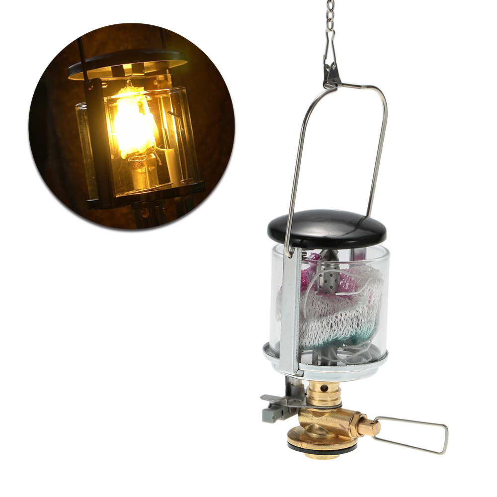 TOMSHOO Mini Camping Light Gas Lantern