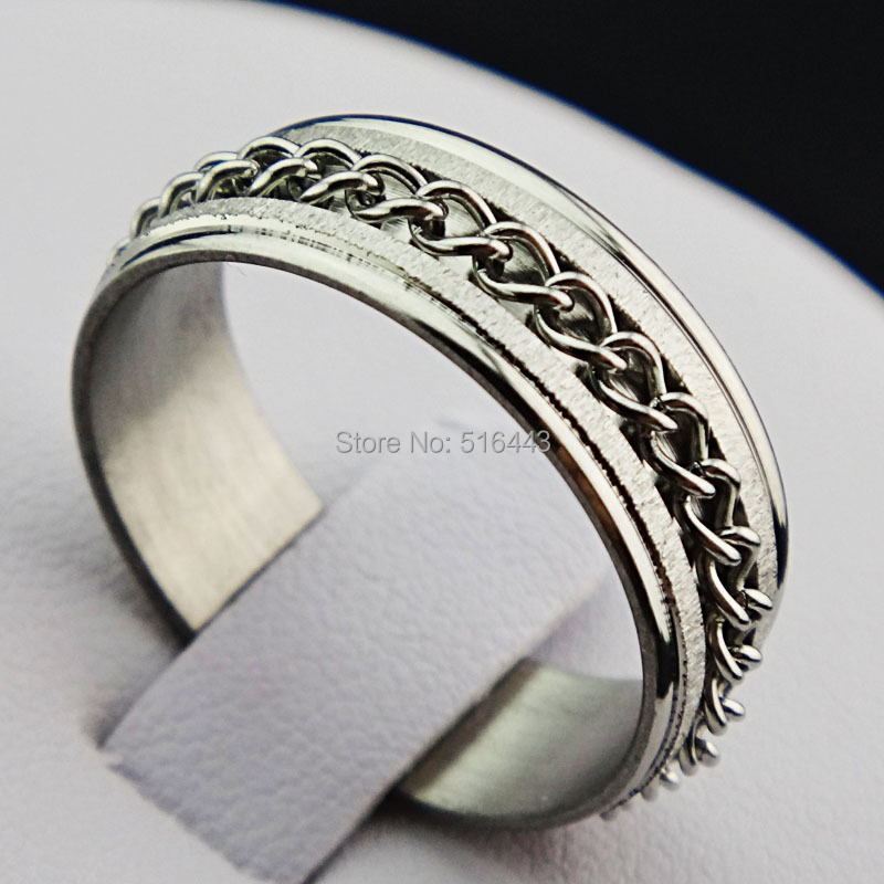 get cheap silver spin rings aliexpress
