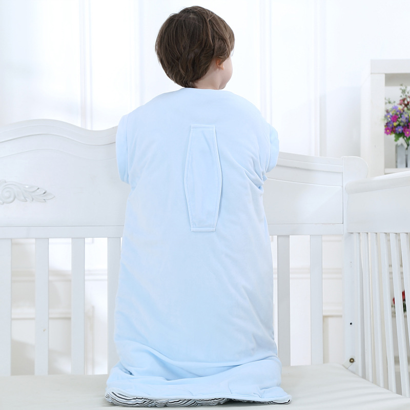 Fewiyoni bebê saco de dormir inverno kick-proof