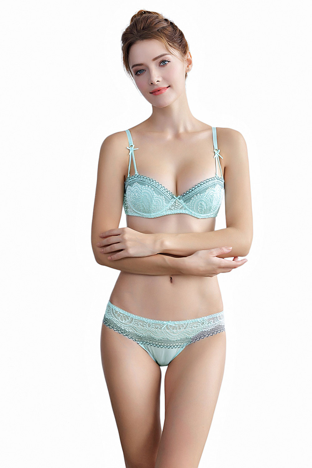 0b12550576b 2019 2018 Women Lace Cotton Transparent Breathable Underwear And ...