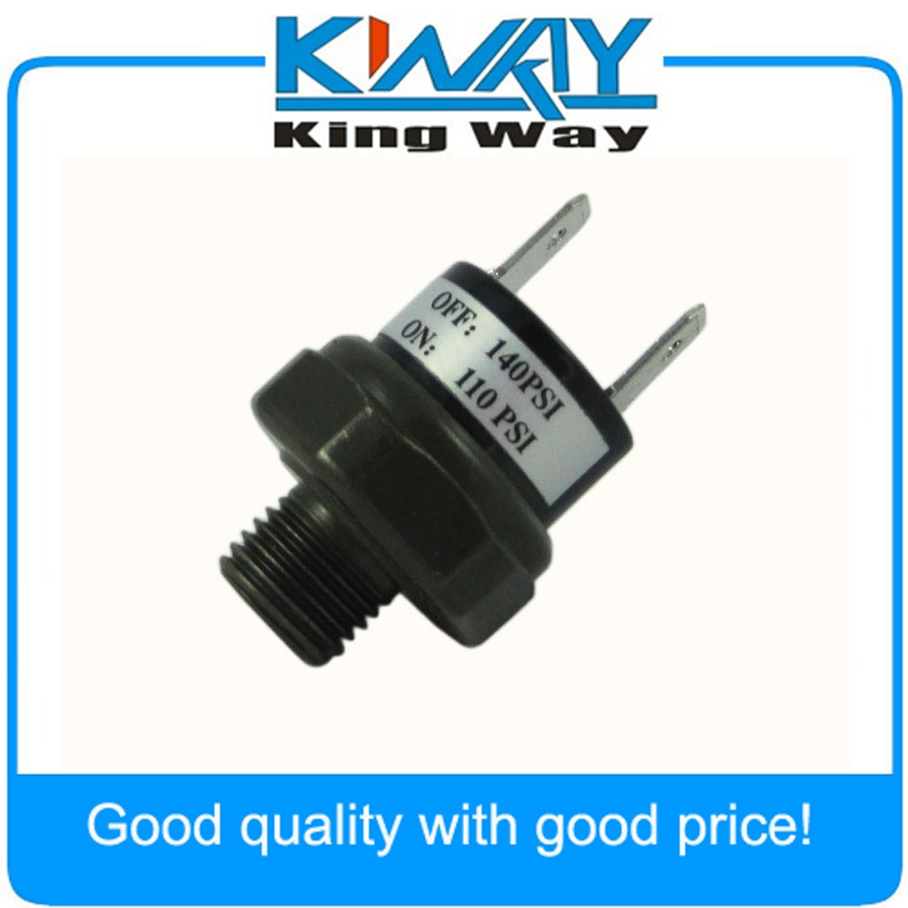 12V 3.5A Trumpet Train Horn Compressor Air Pressure Switch Rated 90 to 110 PSI !